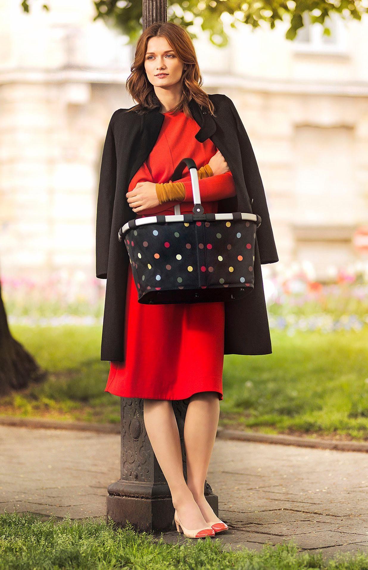 Mit »carrybag« L Innentasche 22 Einkaufskorb Reisenthel® Reißverschluss 1 Y5w8tq