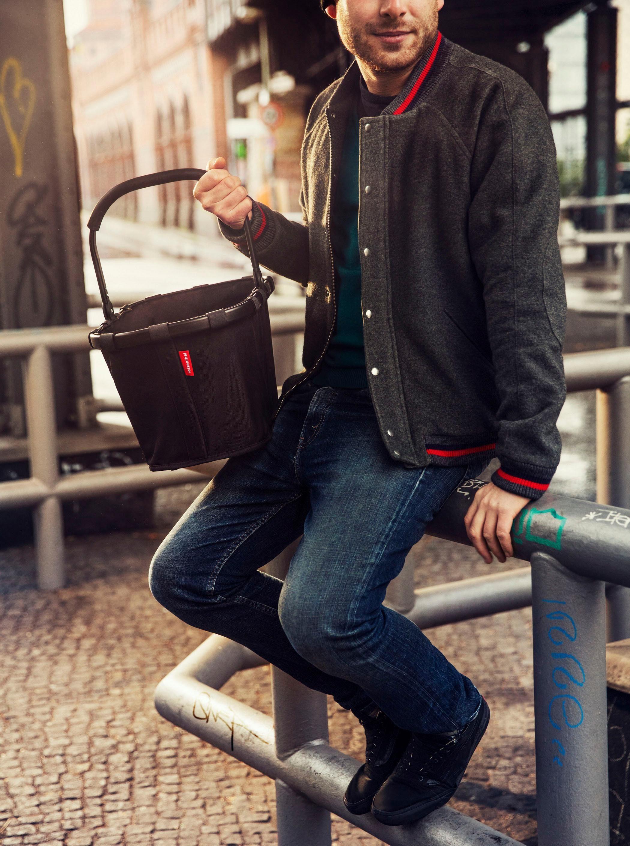 Frame« Mit Einkaufskorb Innentasche L »carrybag Reisenthel® Reißverschluss 1 22 xpnBxU6