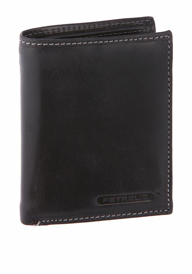 PETROLIO Geldbörse in schwarz