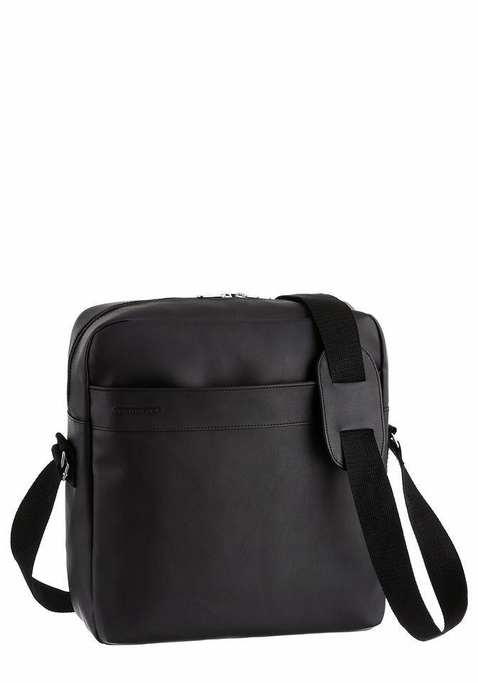 PETROLIO Messenger Bag in schwarz
