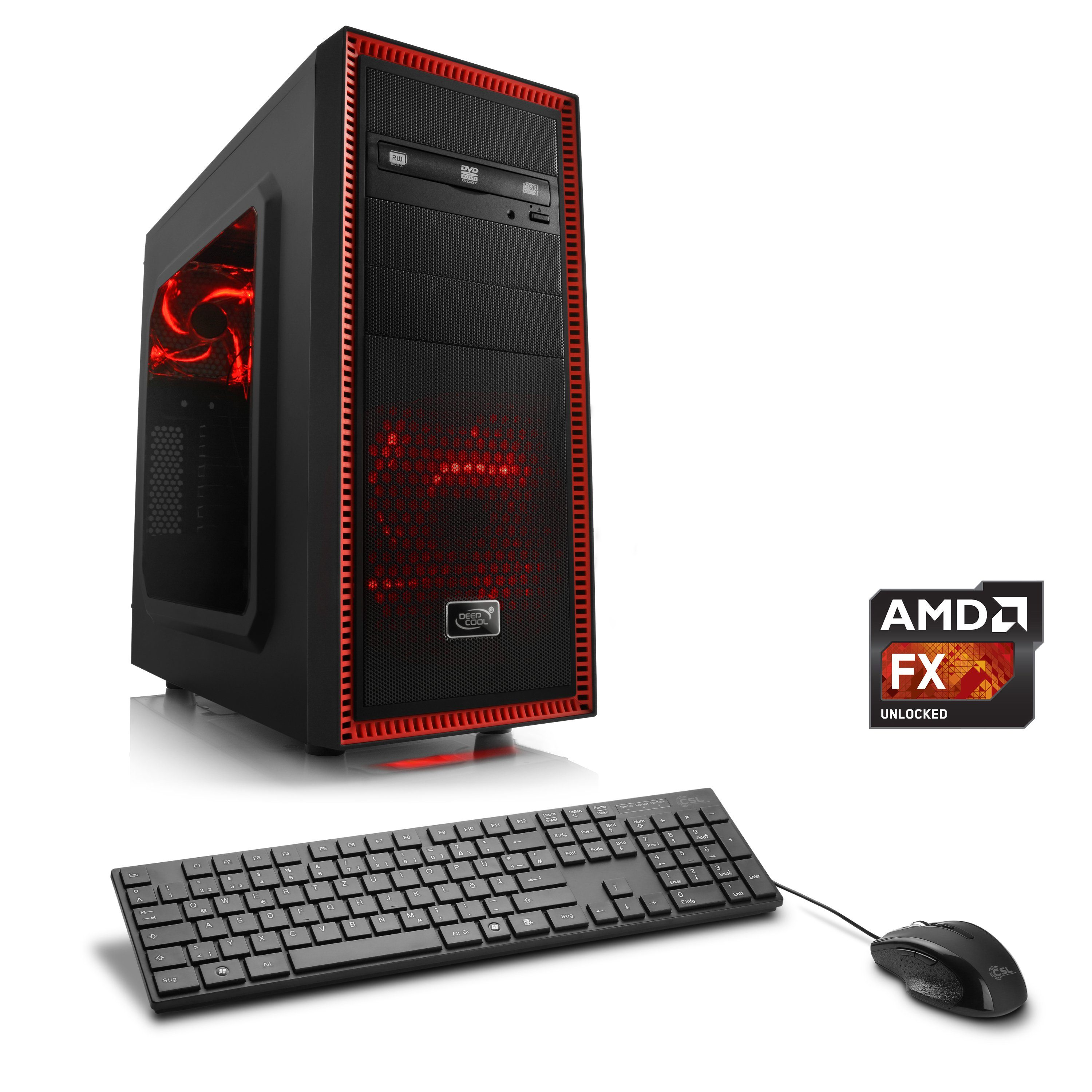 CSL Multimedia PC | AMD FX-8370E | Radeon R5 230 | 8 GB RAM | WLAN »Sprint T6823 Windows 10 Pro«