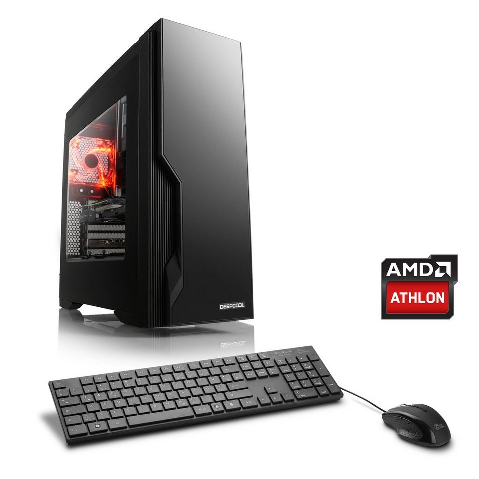 CSL Gaming PC | AMD Athlon X4 880K | AMD RX 460 | 8 GB RAM »Sprint T4814 Windows 10 Home«