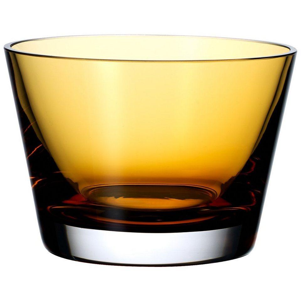 VILLEROY & BOCH Schale amber 120x84mm »Colour Concept« in Dekoriert