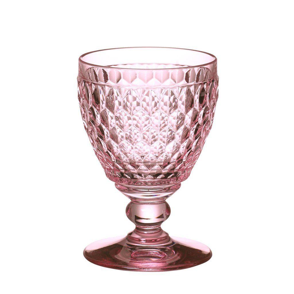 Villeroy & Boch Weissweinglas rose 120mm »Boston coloured«