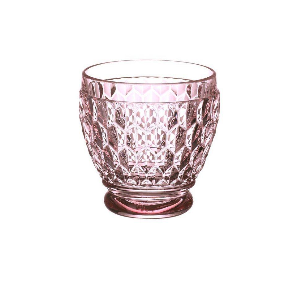 VILLEROY & BOCH Shot Glas rose 63mm »Boston coloured« in Dekoriert