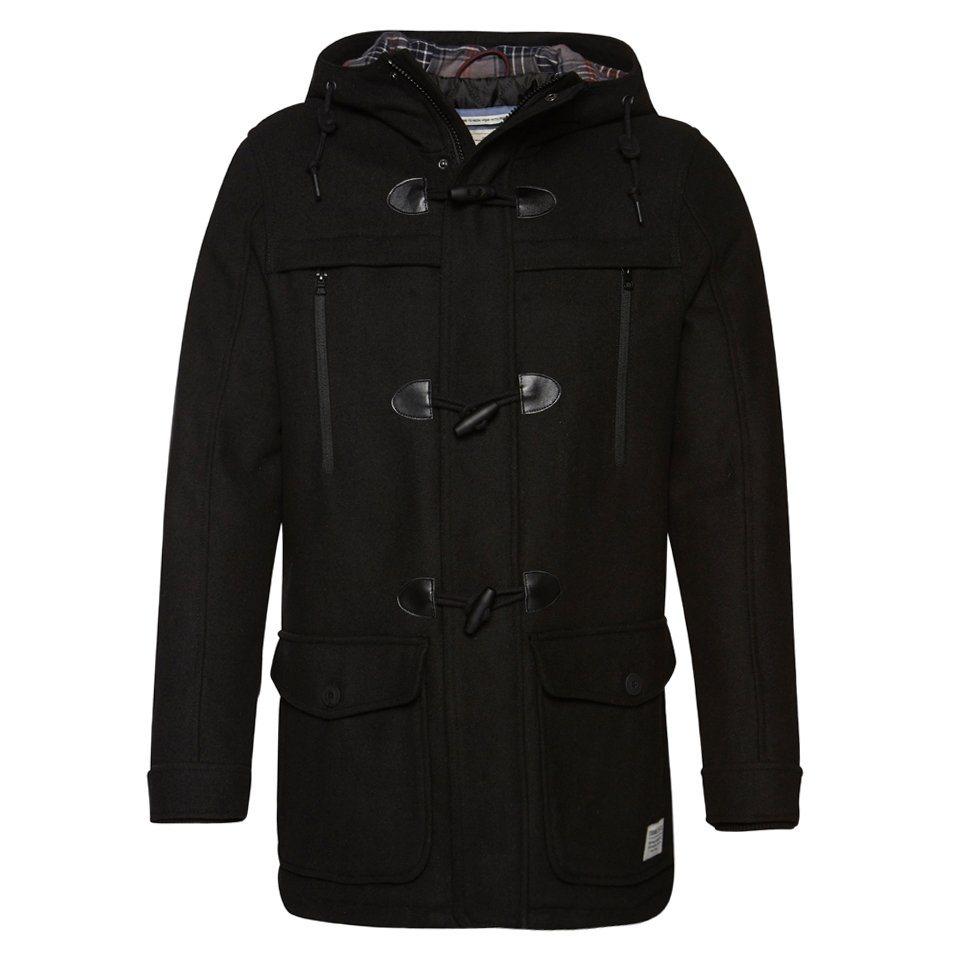 tom tailor denim jacke dufflecoat in woll optik otto. Black Bedroom Furniture Sets. Home Design Ideas