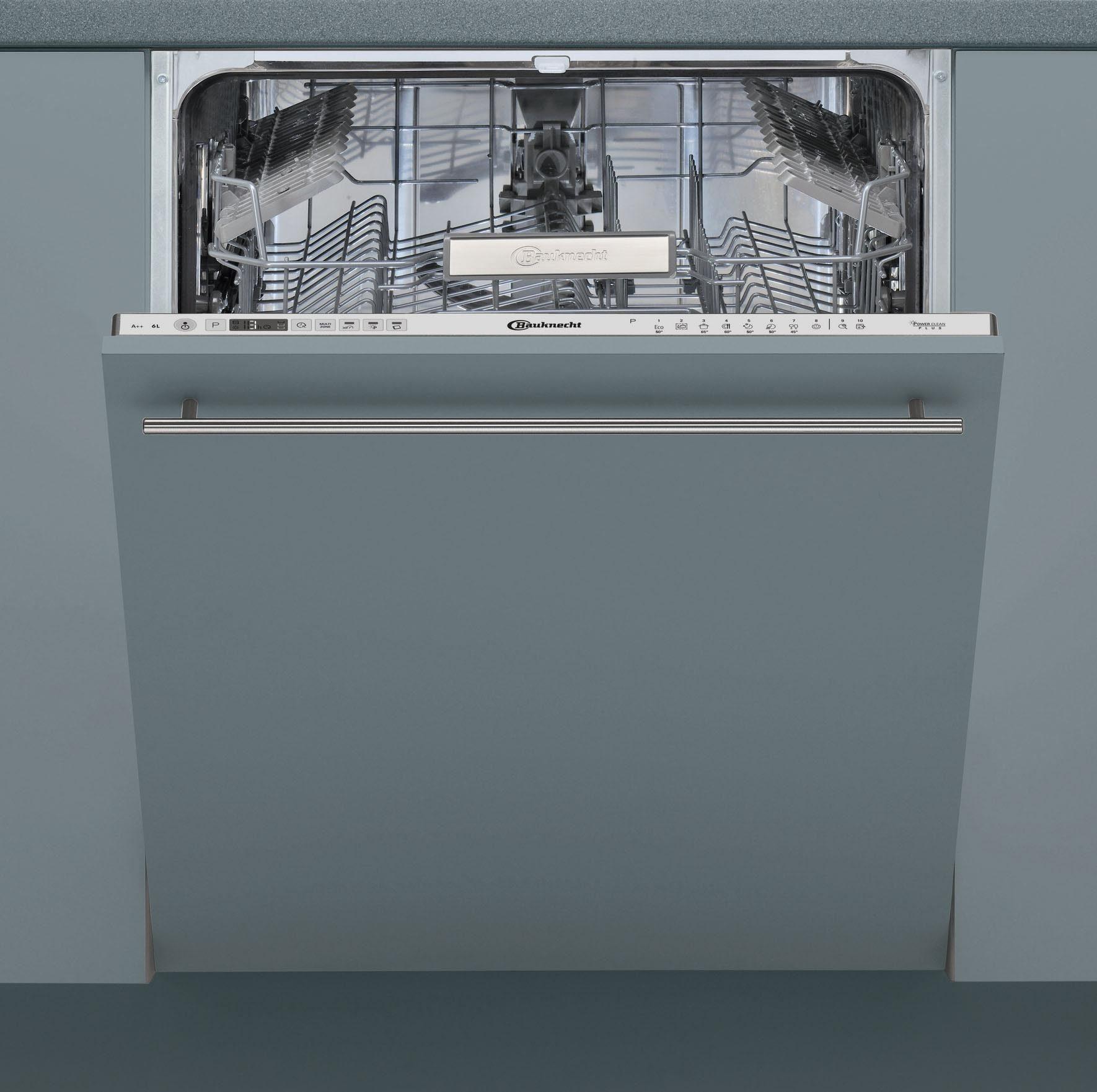 BAUKNECHT Vollintegrierbarer Einbaugeschirrspüler BIO3T323PE6M, A++, 6 Liter, 14 Maßgedecke