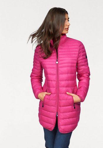 Damen windfield By DANWEAR Daunenmantel in leichter Qualität rosa | 05710289833200