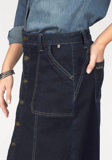 Jeansrock, leicht ausgestellt