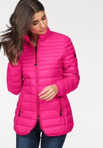 Damen windfield By DANWEAR Daunenjacke in leichter Qualität rosa | 05710289833576