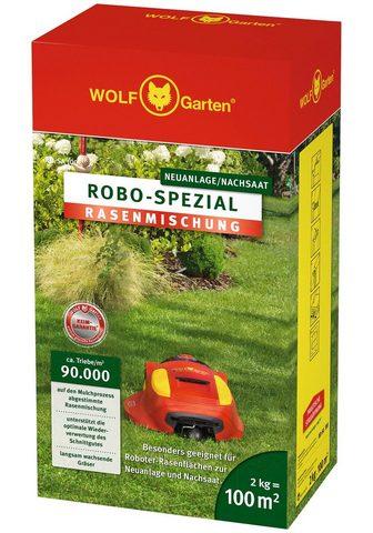 WOLF-GARTEN Nachsaatrasen »ROBO-Spezial« in 2 Verp...