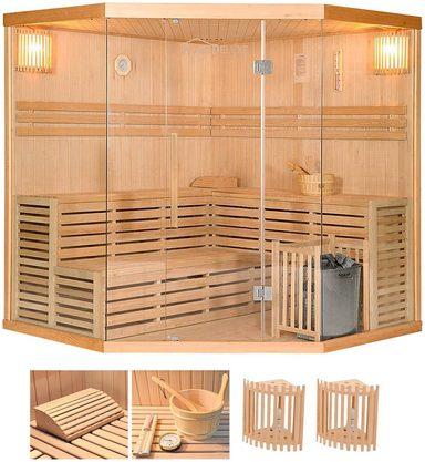 home deluxe elementsauna skyline xl big 200 200 210 cm 50 mm 8 kw ofen int strg online. Black Bedroom Furniture Sets. Home Design Ideas
