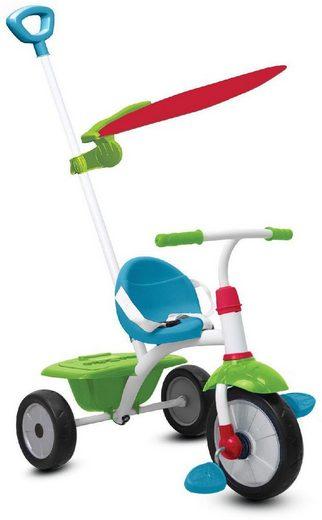 smarTrike® Dreirad »Fun Plus 2 Trikes in 1, grün/blau«, mit verstellbarem Sonnenschutzdach