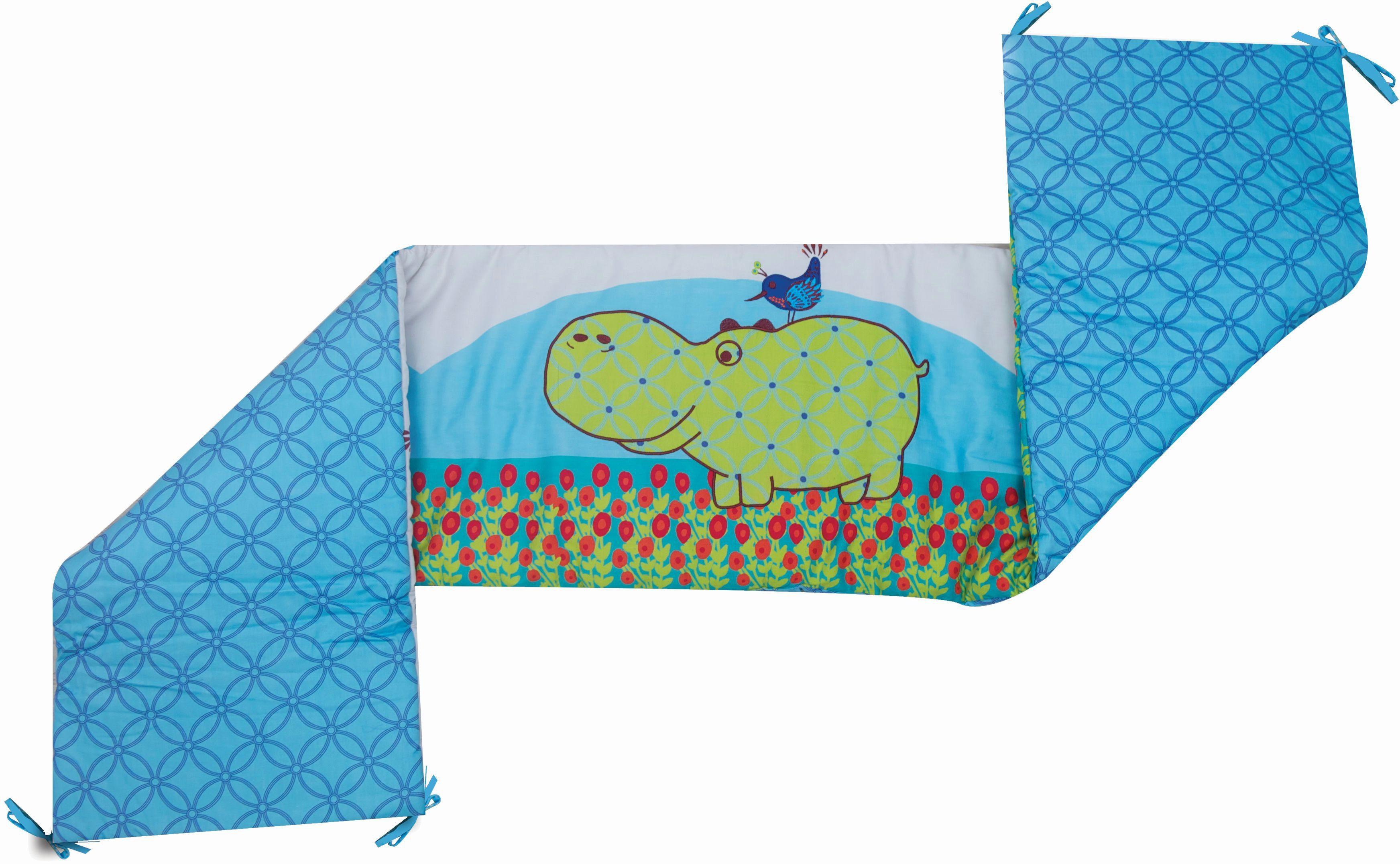 SmarTrike® Nestchen, »toTs® by SmarTrike® Joy Hippo, blau«