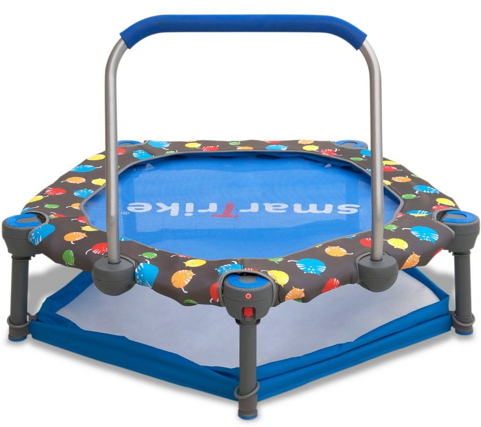 smartrike trampolin 3in1 mit b llebad und haltestange ca. Black Bedroom Furniture Sets. Home Design Ideas