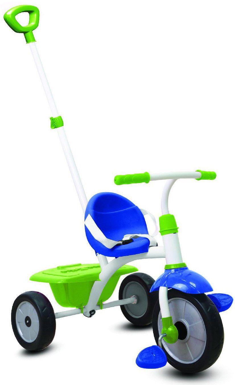 SmarTrike® Dreirad mit abnehmbarer Schubstange, »Fun 2 Trikes in 1, grün/blau«