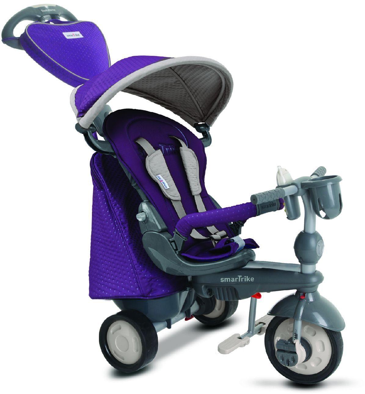 SmarTrike® Dreirad mit verstellbarem Sonnenschutzdach, »Recliner Infinity 5 Trikes in 1, purple«