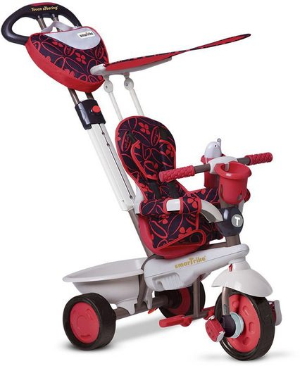smarTrike® Dreirad »Dream 4 Trikes in 1, red«, mit verstellbarem Sonnenschutzdach