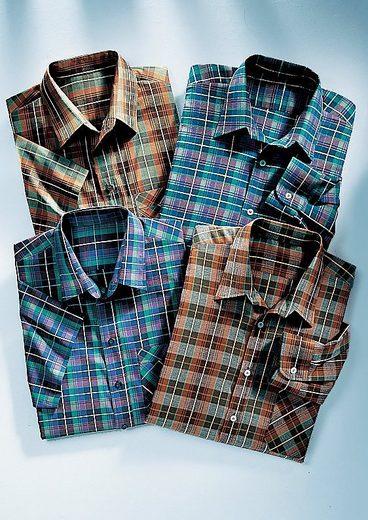 Hemden aus reiner Baumwolle (2 Stck.)