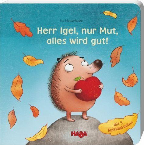 Buch mit Papp-Einband »Herr Igel, nur Mut, alles wird gut!«