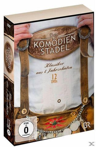 DVD »Der Komödienstadel - Klassiker aus 4...«
