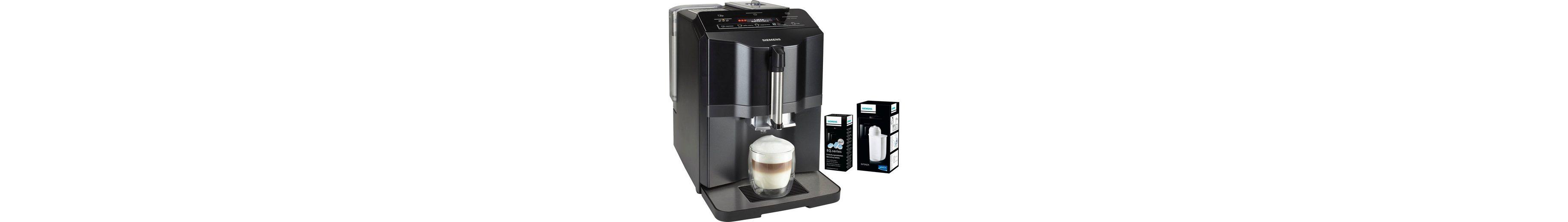 Siemens Kaffeevollautomat EQ.3 s300 TI313519DE, inkl. 1 Packung Entkalker und 1 Brita Intenza Wasserfilter im Wert von UVP 26,98