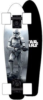Powerslide Skateboard für Jungen, »Star Wars Woody Join US«