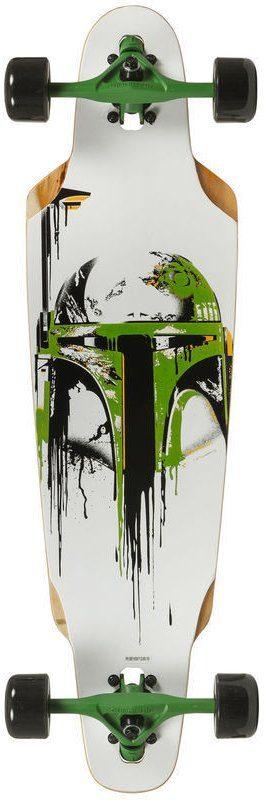 Powerslide Longboard für Jungen, »Star Wars Dropped Boba«