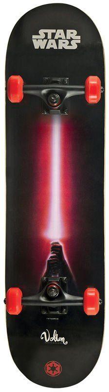 Powerslide Skateboard für Jungen, »Star Wars Darth Vader Skateboard«