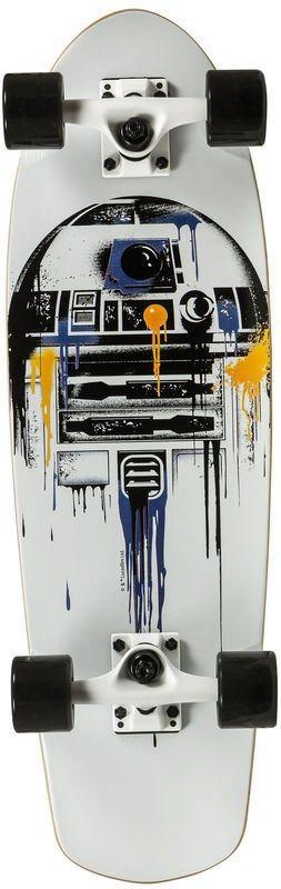 Powerslide Skateboard für Jungen, »Star Wars R2D2 Cruiser«