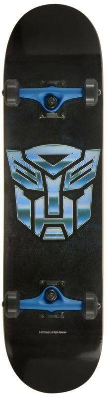 Powerslide Skateboard für Jungen, »Transformers Skateboard Autobot ICON«