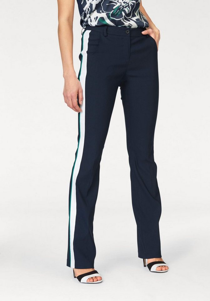 Bruno Banani Bootcuthose Go-Faster-Pants in marine