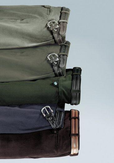 Classic Autofahrer-Hose aus dehnbarem Stretchcord