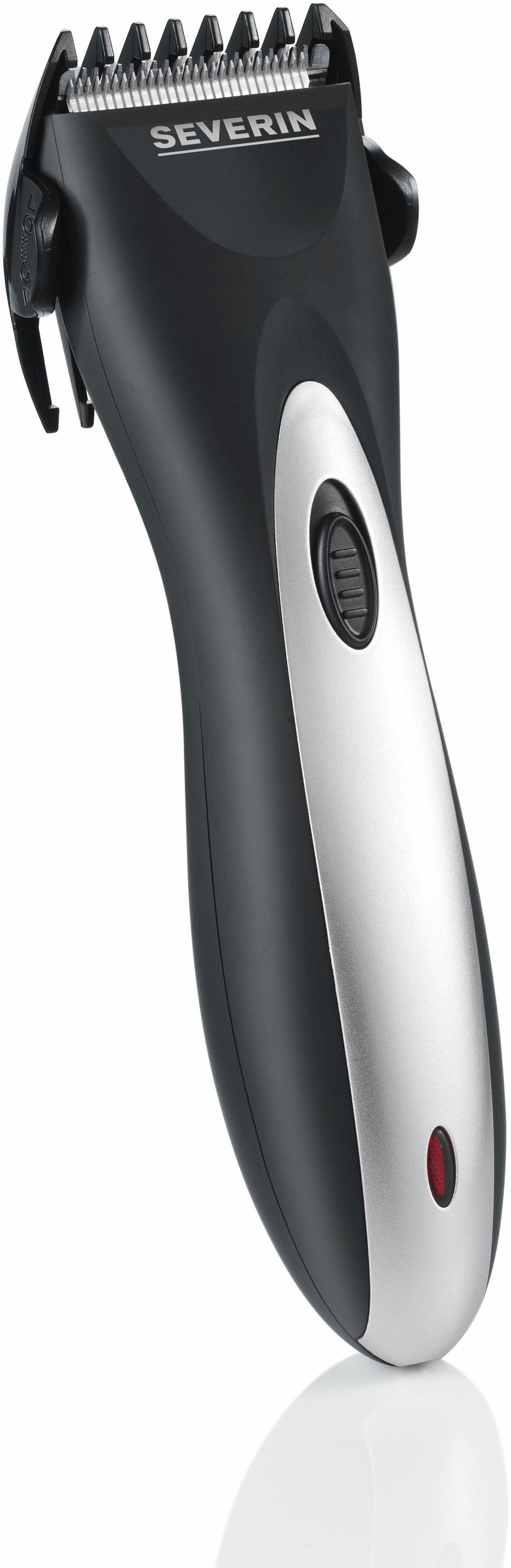 Severin Haar- und Bartschneider HS 0704, Gehäuse mit Soft-Touch-Oberfläche