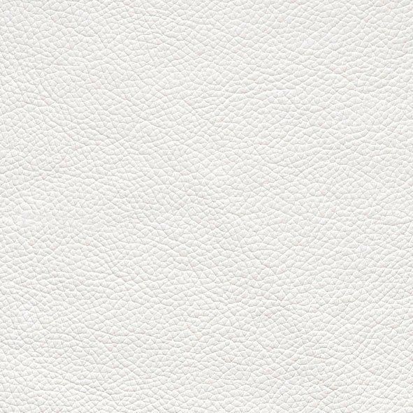 CALIA ITALIA Hocker »Gaia« in zwei Lederqualitäten in bianco ottico