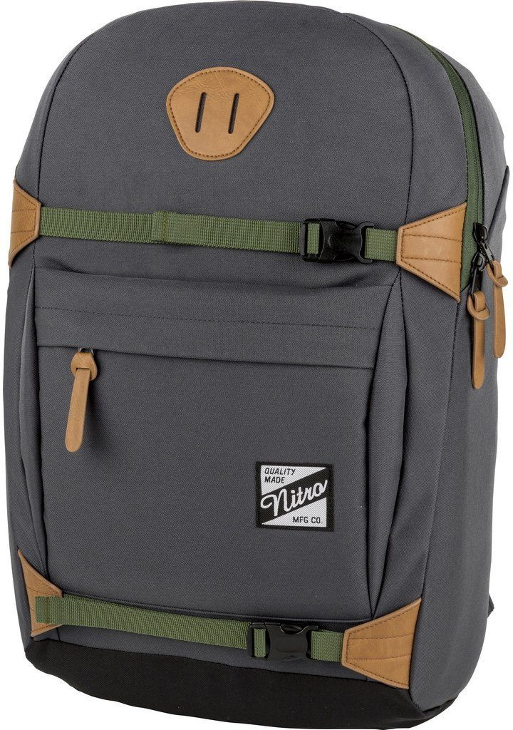 Nitro Rucksack mit Laptopfach, »NYC Pirate Black«