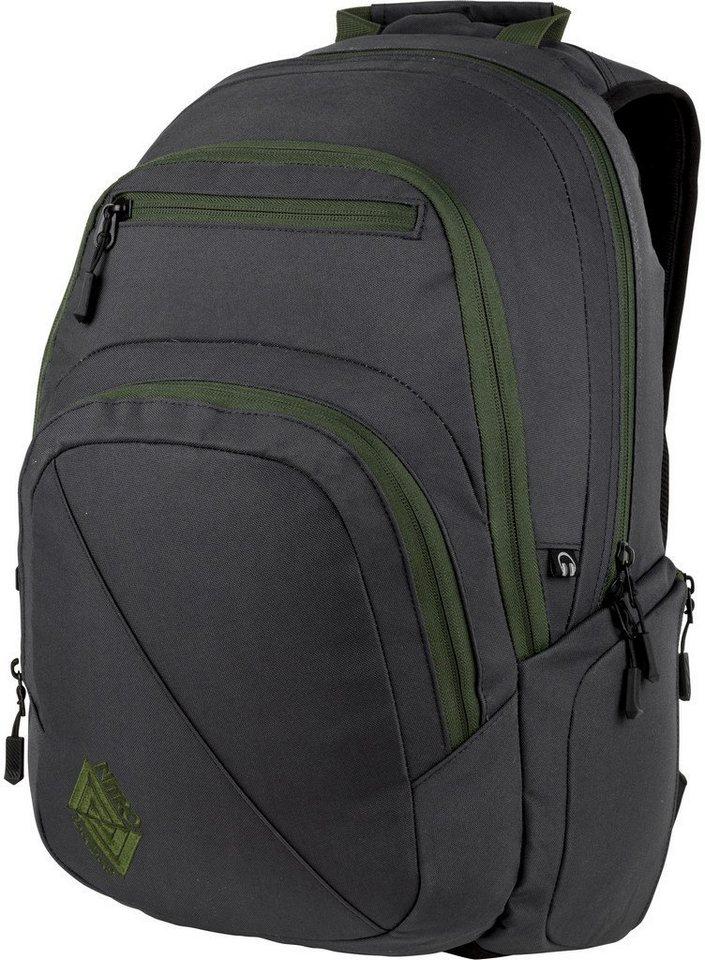 nitro rucksack mit laptopfach stash pirate black online kaufen otto. Black Bedroom Furniture Sets. Home Design Ideas
