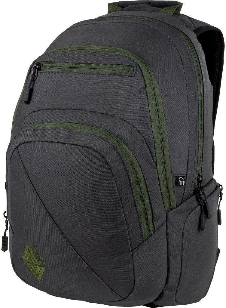 Nitro Schulrucksack, mit Laptopfach, »Stash Pirate Black«