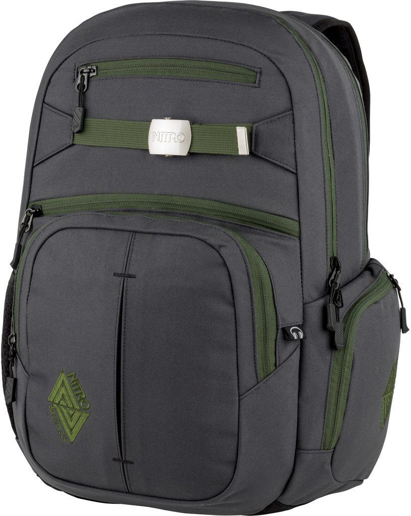 Nitro Schulrucksack, mit Laptopfach, »Hero Pirate Black«