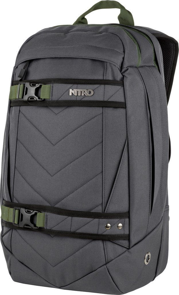Nitro Rucksack mit Laptopfach, »Aerial Pirate Black«