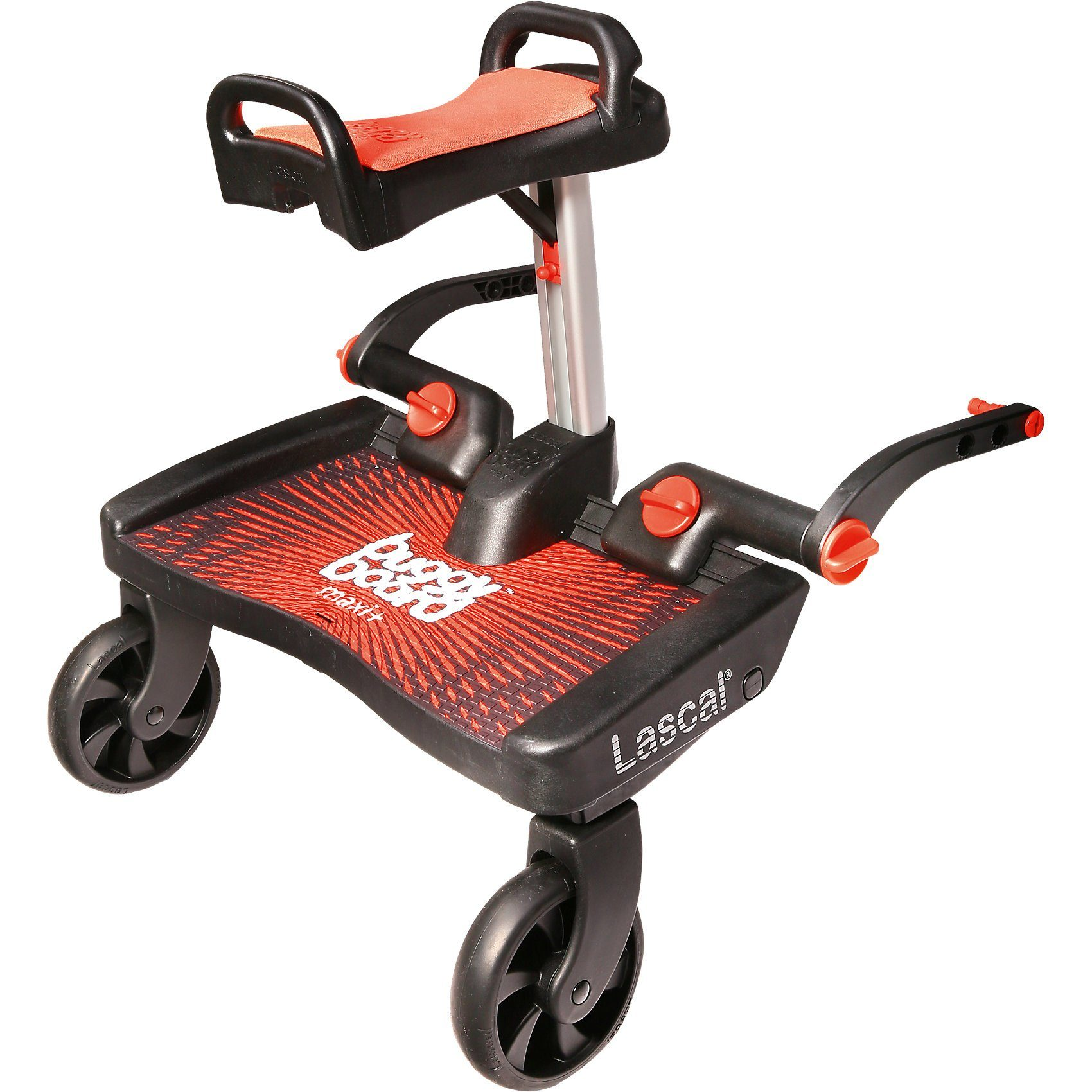 Lascal BuggyBoard Maxi+ rot mit Sitz rot