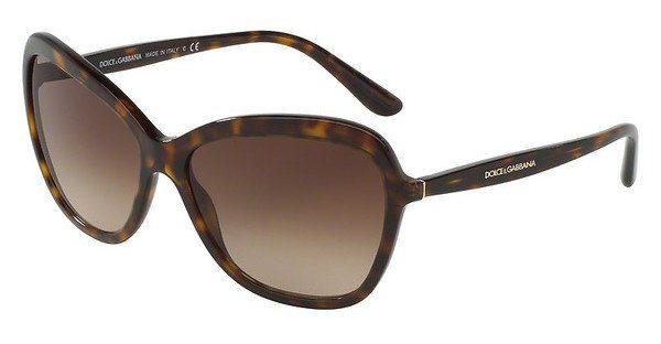 DOLCE & GABBANA Dolce & Gabbana Damen Sonnenbrille » DG4297«, braun, 502/13 - braun/braun