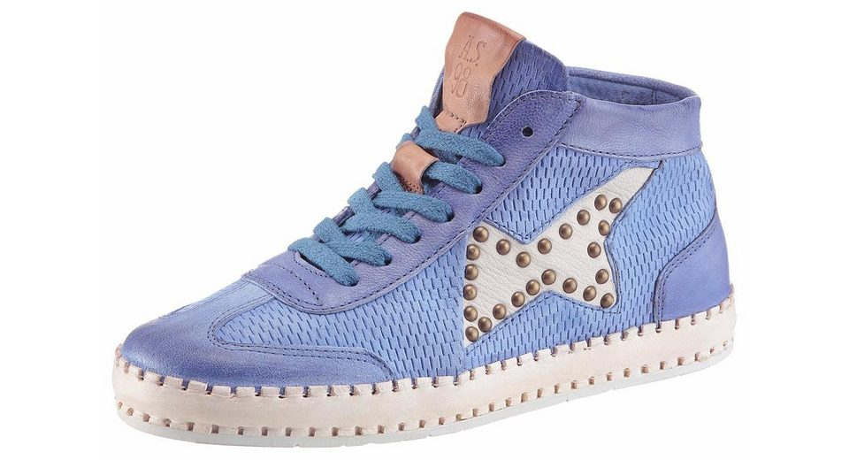 A.S.98 Sneaker, mit coolem Used Effekt