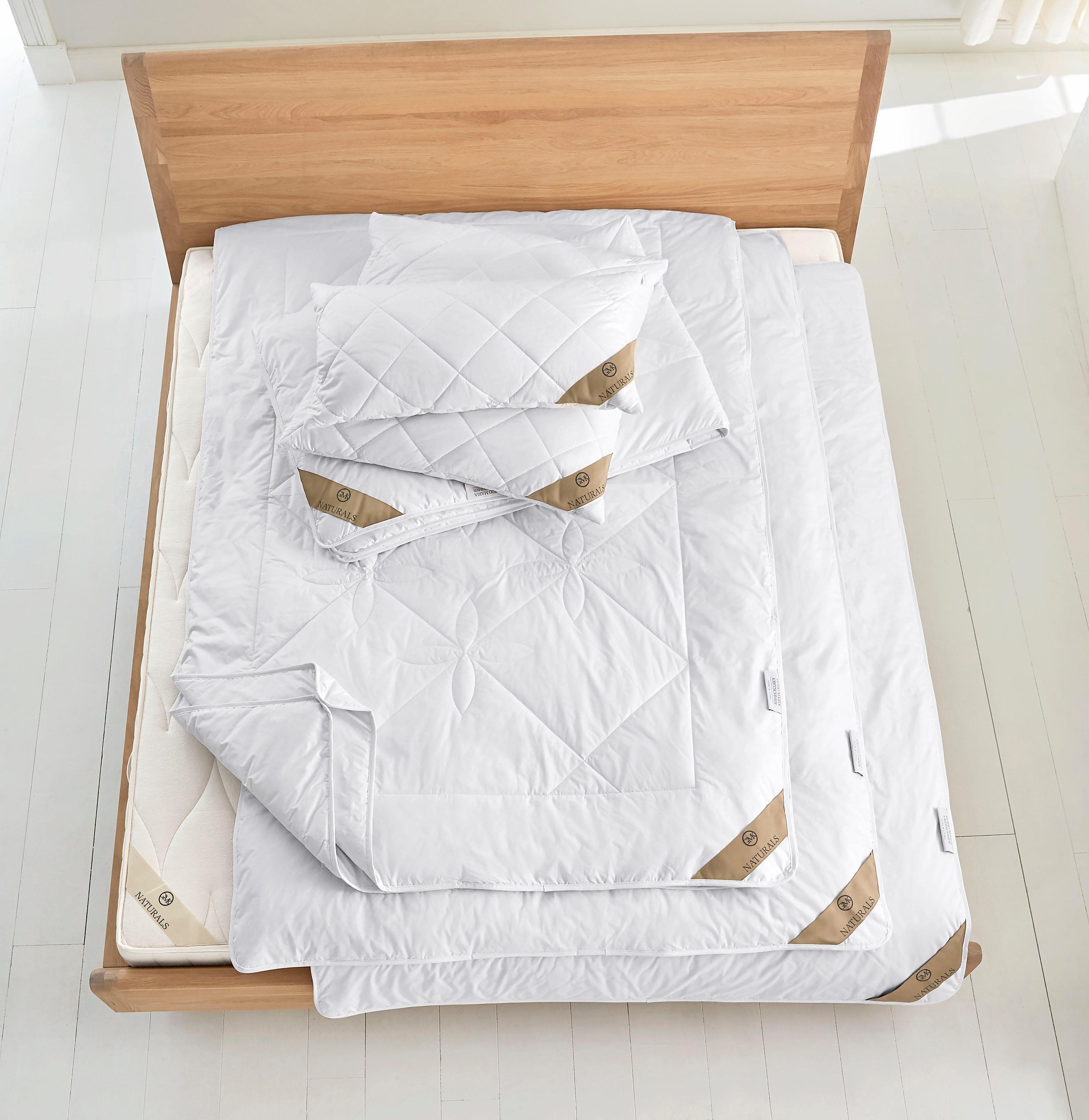 Bettdeckenset, »GMK Schurwolle«, GMK Home & Living, Schurwolle, Normal - von Guido Maria Kretschmer empfohlen, natürliches Bettklima