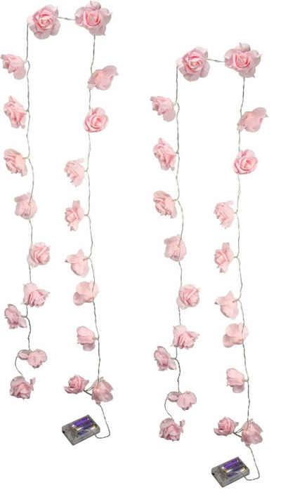 I.GE.A. LED-Lichterkette »Rose«