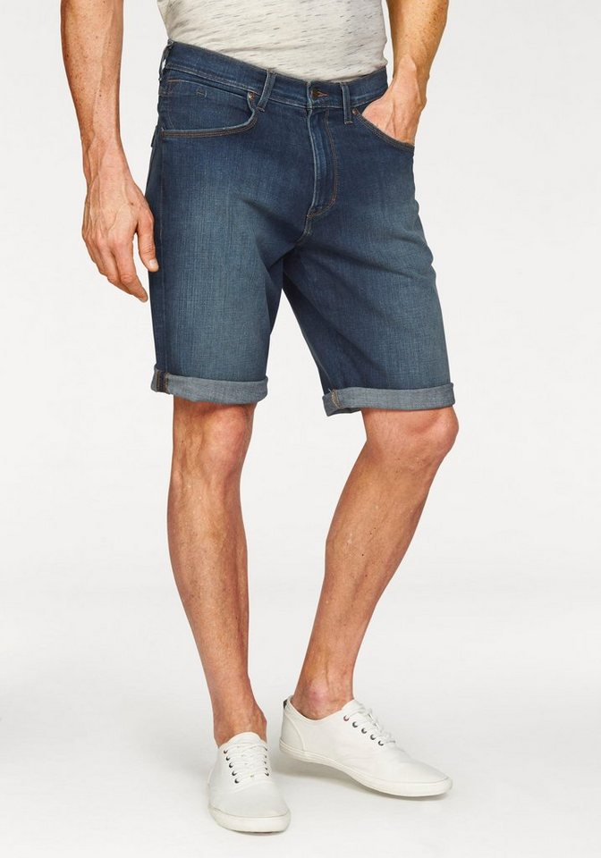 Wrangler Jeansshorts in cleaned up
