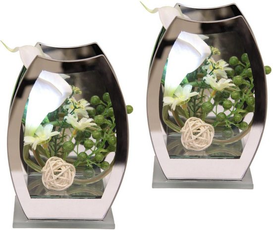 Kunstpflanze »LED-Calla« (Set, 2 Stück)