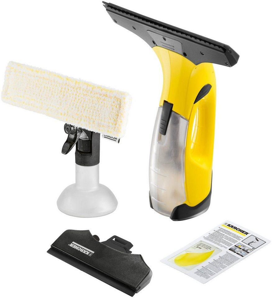 Akku-Fenstersauger »WV 2 Premium« in gelb