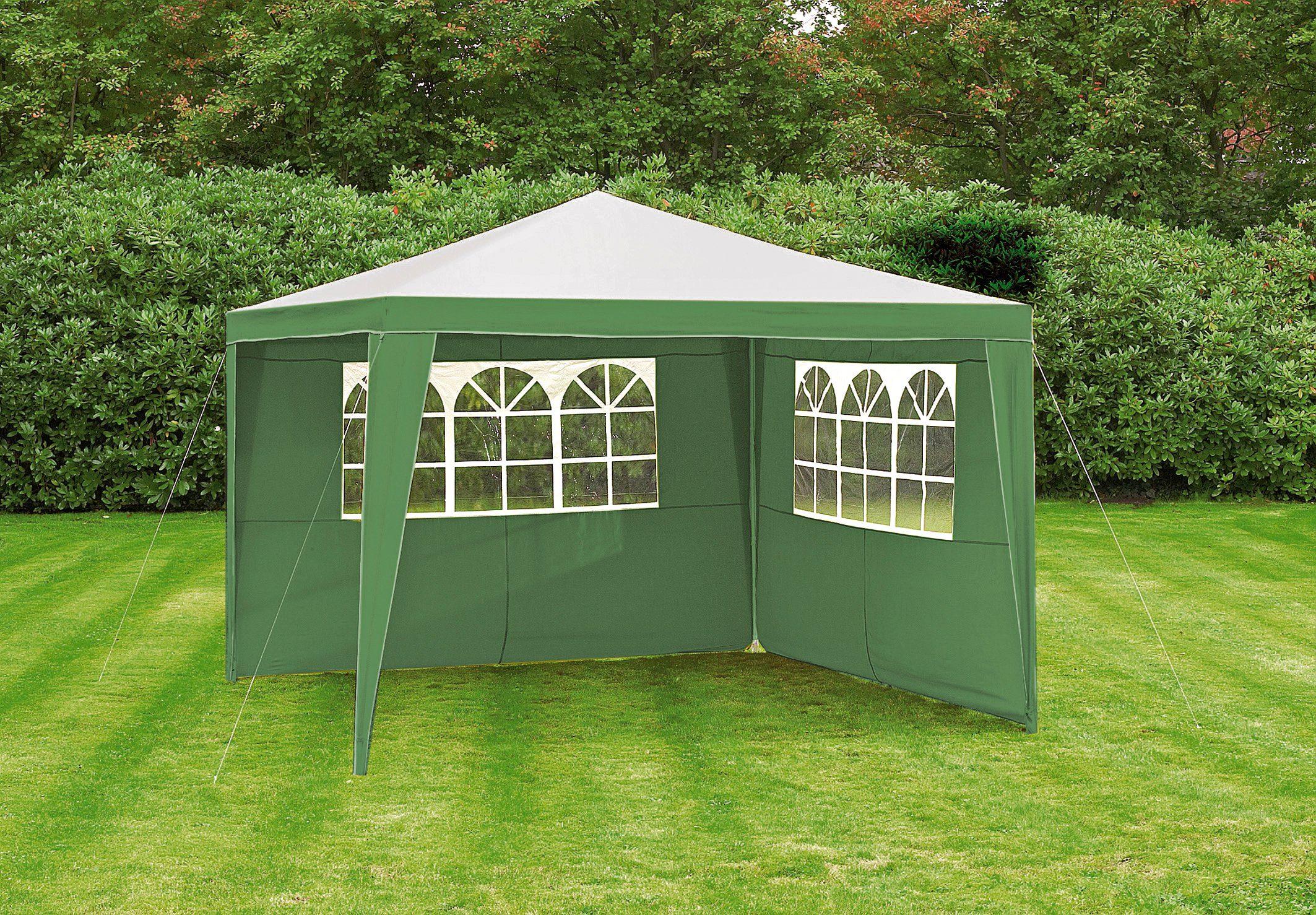 Seitenteile für Pavillon »Party«, 3x4 m, grün