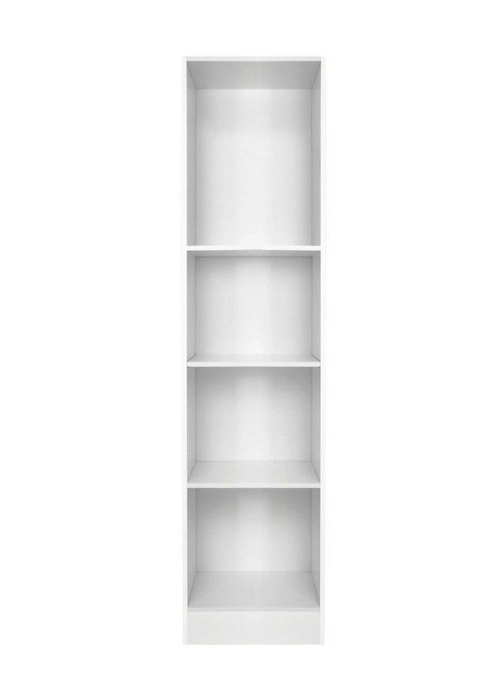 Hochschrank-Regal »Helsinki«, Höhe 207 cm in weiß x weiß